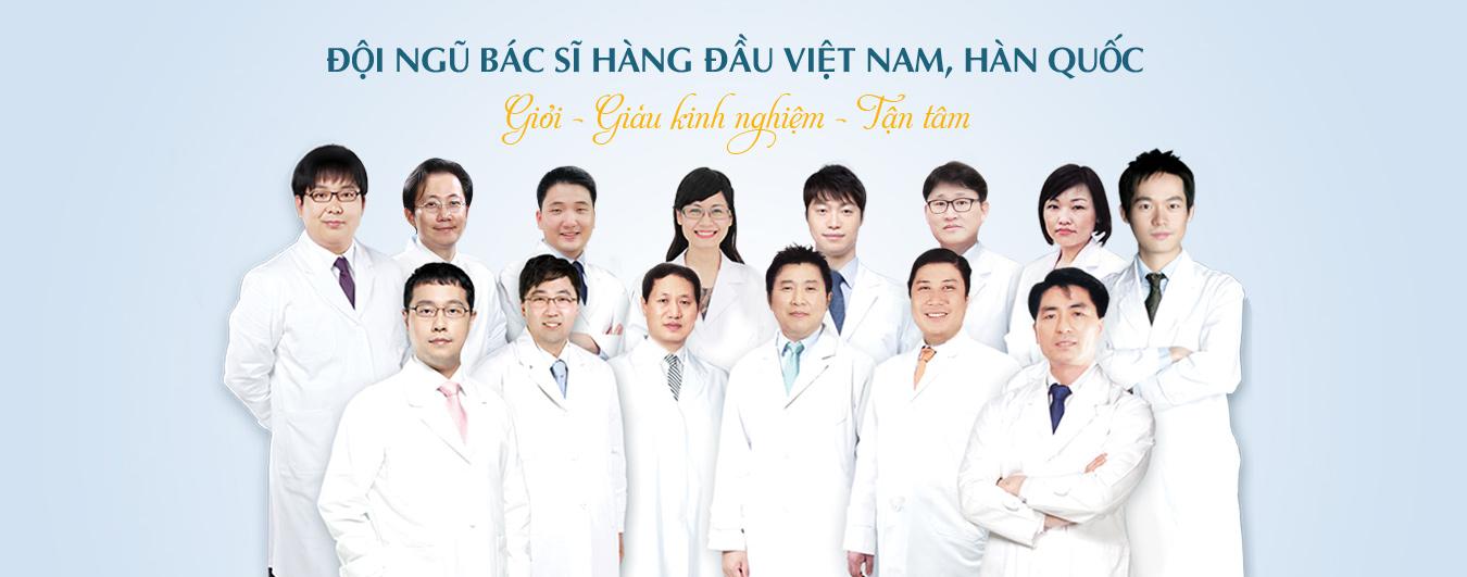 Đội ngũ bác sĩ Hàng đầu Việt Nam Hàn Quốc