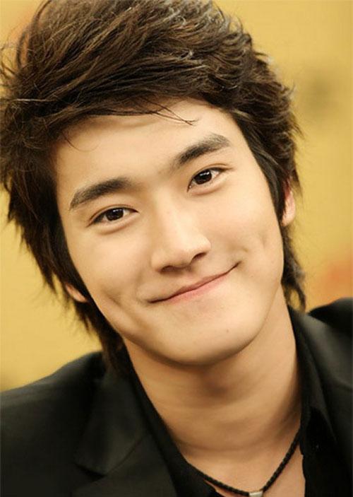 Siwon đẹp trai với má lúm