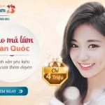 """Tạo má lúm Hàn Quốc: Tươi tắn duyên xinh – """"Đốn tim"""" phái mạnh – Sale Up To 30%"""